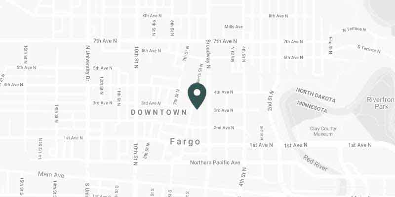 Fargo Office Location Map